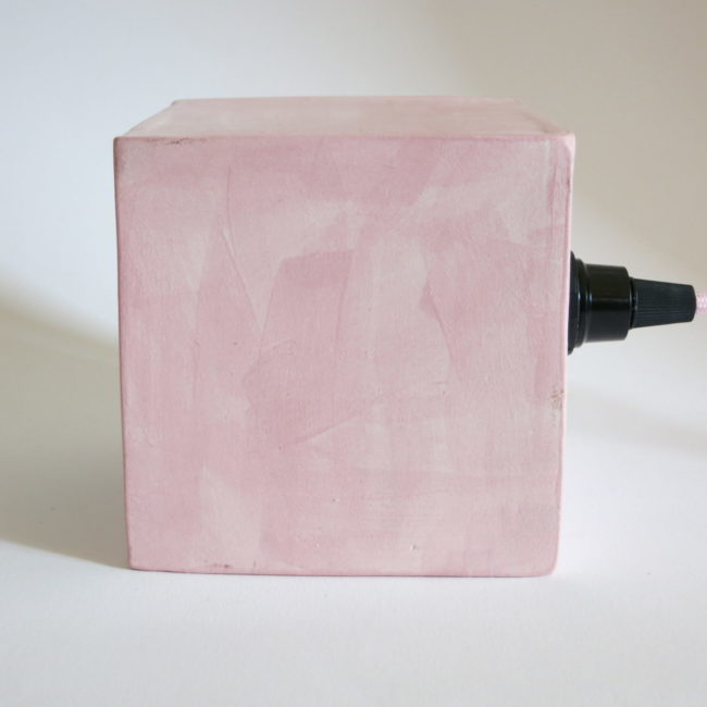 pink hole lamp side